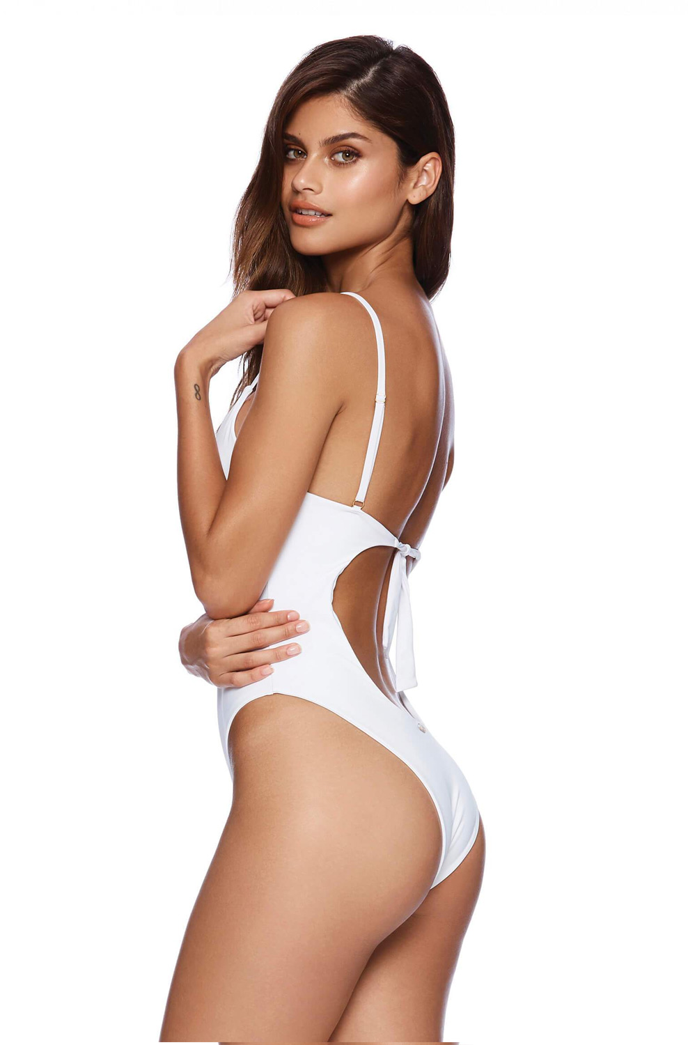 Купальник Beach Bunny Katrina One Piece White - MixBikini