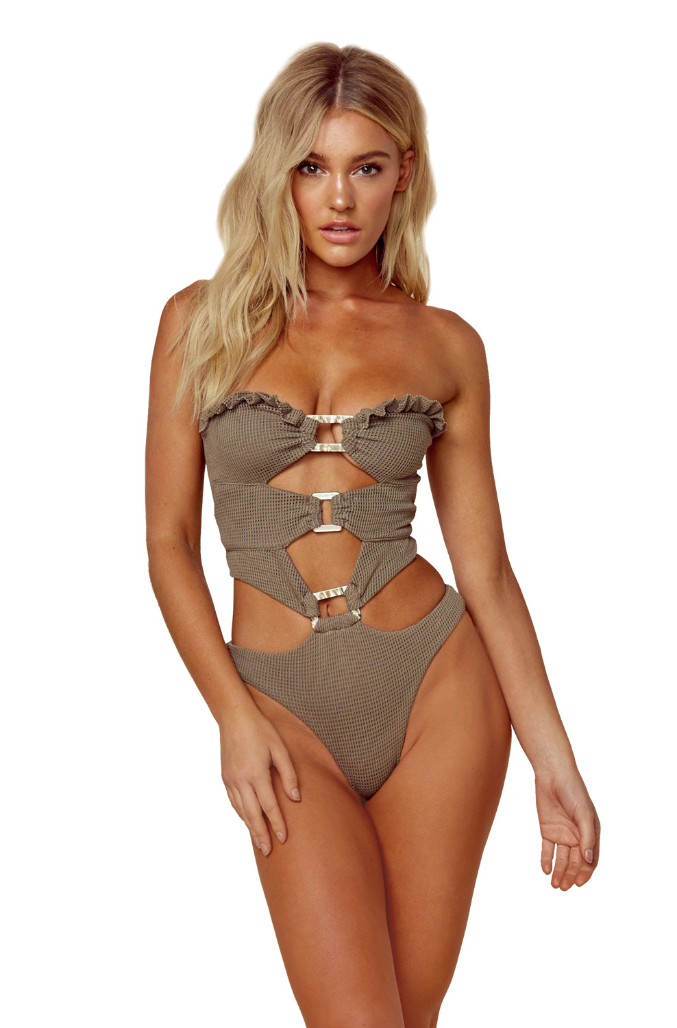 Купальник монокини Blue Life Shipwrecked One Piece - MixBikini