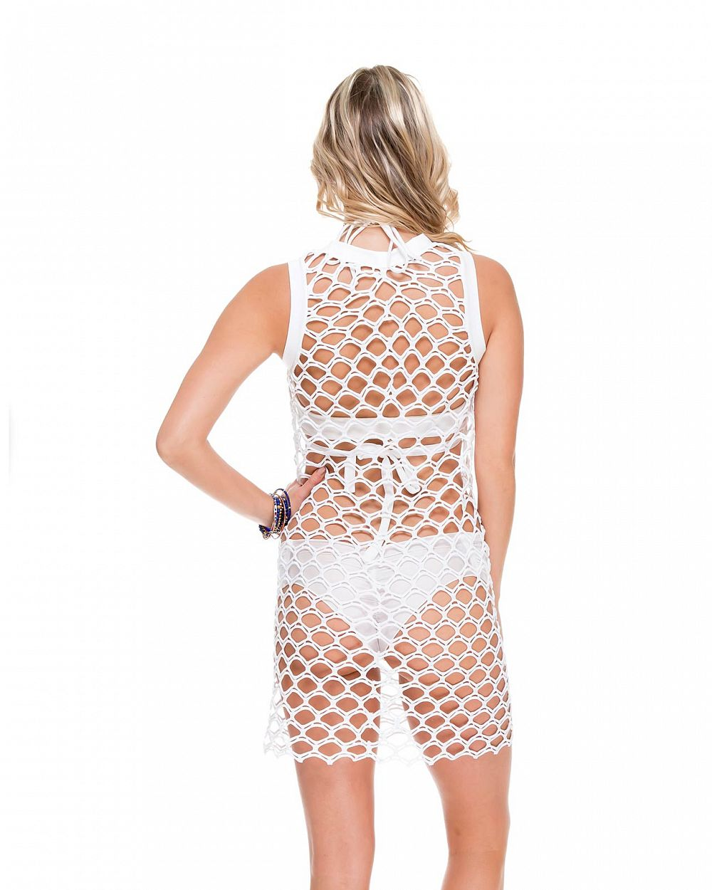 Платье пляжное Luli Fama What a Catch Dress - MixBikini