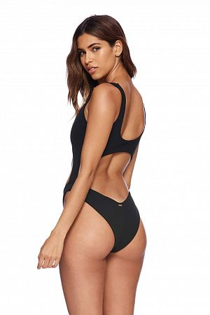 Купальник Beach Bunny Kelly Monokini - Black - MixBikini