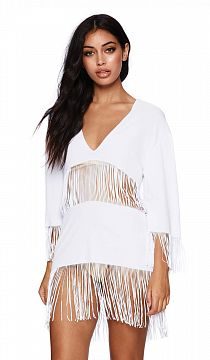 Туника Beach Bunny Indian Summer White