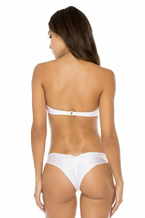 Лиф Luli Fama Push Up Bandeau White - MixBikini