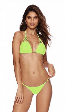 Купальник Beach Bunny Ireland Triangle Top & Skimpy Bottom Lime