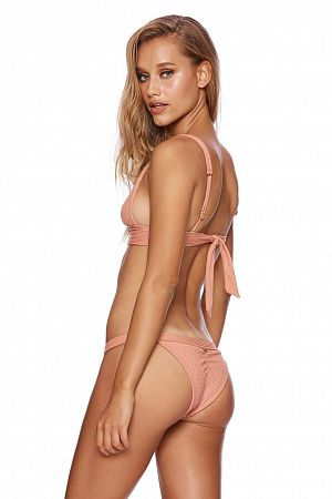 Плавки Beach Bunny Reese Skimpy Bottom Whiskey Rose - MixBikini